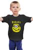 "Детская футболка ""Миньон (Banana)"" - nirvana, пародия, нирвана, миньон, банана"