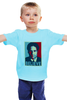 """Детская футболка """"Дэвид Духовны (Believe)"""" - x-files, дэвид духовны, фокс малдер, fox mulder"""