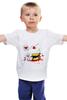 "Детская футболка ""Монстр"" - арт, круто, кекс, cherry, muffin, маффин"