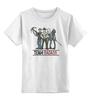 """Детская футболка классическая унисекс """"the walking dead"""" - zombie, зомби, ходячие мертвецы, the walking dead, рик"""