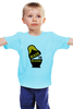"Детская футболка классическая унисекс ""Made in Russia"" - россия, russia, парню, сувенир, матрёшка, doll, made in russia"