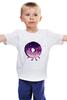 """Детская футболка """"Космический Пончик (Space Donut)"""" - пончик, donut, космический пончик, space donut"""