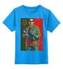 """Детская футболка классическая унисекс """"Expendables III Shwarzenegger colors"""" - неудержимые, шварценеггер, expendables, kinoart, shwarzenegger"""