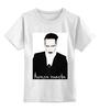 """Детская футболка классическая унисекс """"Marilyn Manson"""" - marilyn manson, мэрилин мэнсон"""