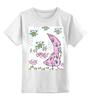 """Детская футболка классическая унисекс """"good morning"""" - арт, цветы, рисунок, good morning"""