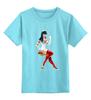 """Детская футболка классическая унисекс """"Медсестра           """" - эротика, парню, медсестра"""