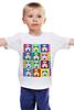 """Детская футболка классическая унисекс """"Штурмовик поп-арт"""" - поп-арт, star wars, pop art, звездные войны, stormtrooper, штурмовик"""