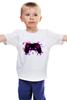 """Детская футболка классическая унисекс """"Игрок (Геймер) """" - gamer, геймер, джойстик, ps4, геймпад"""