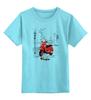 """Детская футболка классическая унисекс """"Vespa. Веспа"""" - италия, винтаж, мото, vespa, веспа"""