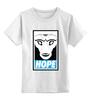 """Детская футболка классическая унисекс """"Святой Уолкер (Синий Фонарь)"""" - obey, hope, saint walker, синий фонарь, святой уолкер"""