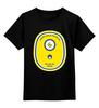 """Детская футболка классическая унисекс """"Миньон (Banana)"""" - banana, миньон, гадкий я, minion"""