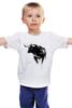 """Детская футболка """"Черный Бык"""" - животные, black, бык, bull"""