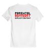 """Детская футболка классическая унисекс """"Parental Advisory Explicit"""" - мат"""