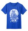 """Детская футболка классическая унисекс """"Сова.Сова"""" - арт, night, ночь, сова, owl, dark"""