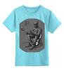 """Детская футболка классическая унисекс """"Mummy"""" - арт, ходячие мертвецы, мумия, mummy"""