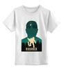 """Детская футболка классическая унисекс """"Biochock poster"""" - плакат, биошок, bioshock, большой папочка"""