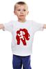 """Детская футболка классическая унисекс """"Hiro and Baymax """" - город героев, big hero 6, baymax and hiro, бэймакс и хиро"""