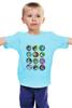 "Детская футболка ""Все герои Nintendo!"" - nintendo, mario, pikachu, yoshi, link, zelda, smash bros, super smash, donkey kong, pokemonm"