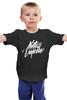 """Детская футболка классическая унисекс """"Natus Vincere Calligraphy"""" - игры, dota, dota 2, navi, natus vincere, дота, каллиграфия, edward, киберспорт, dendi"""