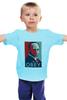 "Детская футболка ""Путин (Obey)"" - путин, президент, putin, повинуйся"
