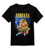 """Детская футболка классическая унисекс """"Nirvana"""" - гранж, nirvana, kurt cobain, курт кобейн, нирвана"""