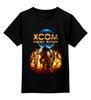 """Детская футболка классическая унисекс """"X-COM 2"""" - sci fi, ufo, x-com"""