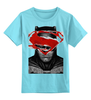 "Детская футболка классическая унисекс ""бэтмен"" - batman, superman, бэтмен, супермэн, бэтмэн, n"