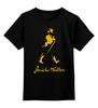 """Детская футболка классическая унисекс """"Джонни Уокер"""" - виски, whisky, johnnie walker"""