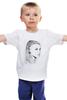 """Детская футболка классическая унисекс """"jhgjgh"""" - девушка"""