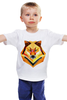 """Детская футболка классическая унисекс """"Одинокий волк"""" - хипстер, волк, минимализм, wolf, hipster, модные сумки"""