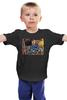 """Детская футболка """"Политический Юмор"""" - ссср, россия, терминатор, сталин, кремль"""