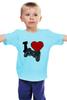 """Детская футболка классическая унисекс """"Геймер (Игрок)"""" - gamer, джойстик, ps, playstation, плейстейшн"""
