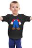 "Детская футболка ""Костюм Марио"" - nintendo, марио, mario bros, супербратья марио"
