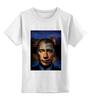"""Детская футболка классическая унисекс """"Путин vs Обама"""" - америка, россия, обама, путин, президент"""