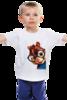 """Детская футболка классическая унисекс """"Бурундук Саймон"""" - герой, мульт, бурундук, элвин, элвин и бурундуки"""