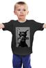 """Детская футболка классическая унисекс """"Person #1 DOG men"""" - dog, hip hop, gun, doberman, доберман"""