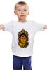"""Детская футболка """"Сиддхаартха Гаутама"""" - медитация, лотос, будда"""