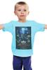"Детская футболка классическая унисекс ""Daft Punk - Lose Youself to Dance"" - музыка, робот, электроника, daft punk, kinoart"