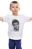 """Детская футболка """"леонардо ди каприо"""" - леонардо ди каприо, титаник, leonardo dicaprio, актёр, titanic"""
