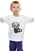 """Детская футболка классическая унисекс """"Эйнштейн"""" - арт, albert einstein, физика, эйнштейн, scientist"""