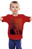 """Детская футболка классическая унисекс """"Путин-Арт"""" - россия, путин, президент, putin, кремль"""