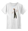 """Детская футболка классическая унисекс """"Эпизод 1 - Кактус"""" - арт, сталкер, тёмная душа"""