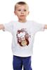 """Детская футболка """"Obey milkman"""" - арт, авторские майки, obey, молочник"""