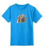 """Детская футболка классическая унисекс """"7-ой Доктор Кто"""" - цветы, doctor who, доктор кто, далек, киберлюди"""