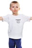 "Детская футболка классическая унисекс ""Logo rammstein"" - rammstein, рамштайн, раммштайн"