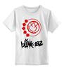 "Детская футболка классическая унисекс ""blink-182 red logo"" - blink-182, ava, blink 182, angelsandairwaves, blink182"