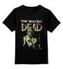 """Детская футболка классическая унисекс """"The Walking Dead"""" - the walking dead, zombie, зомби, ходячие мертвецы"""