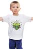 """Детская футболка """"Зеленый чай"""" - весна, spring, зеленый чай, green tea, весенний"""