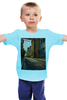 "Детская футболка ""Evening brooklyn"" - new york, америка, usa, сша, america, street, brooklyn, бруклин"