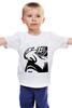 """Детская футболка классическая унисекс """"Фильм Леон (Leon)"""" - leon, профессионал, леон"""